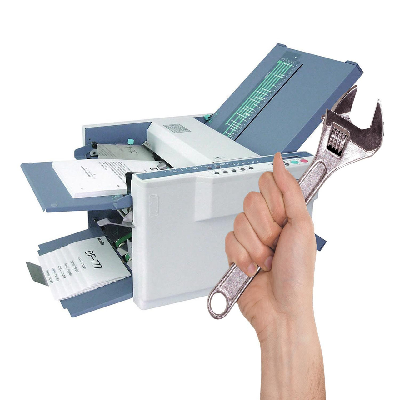 Back to Base Service / Repair for A3 Paper Folding Machines