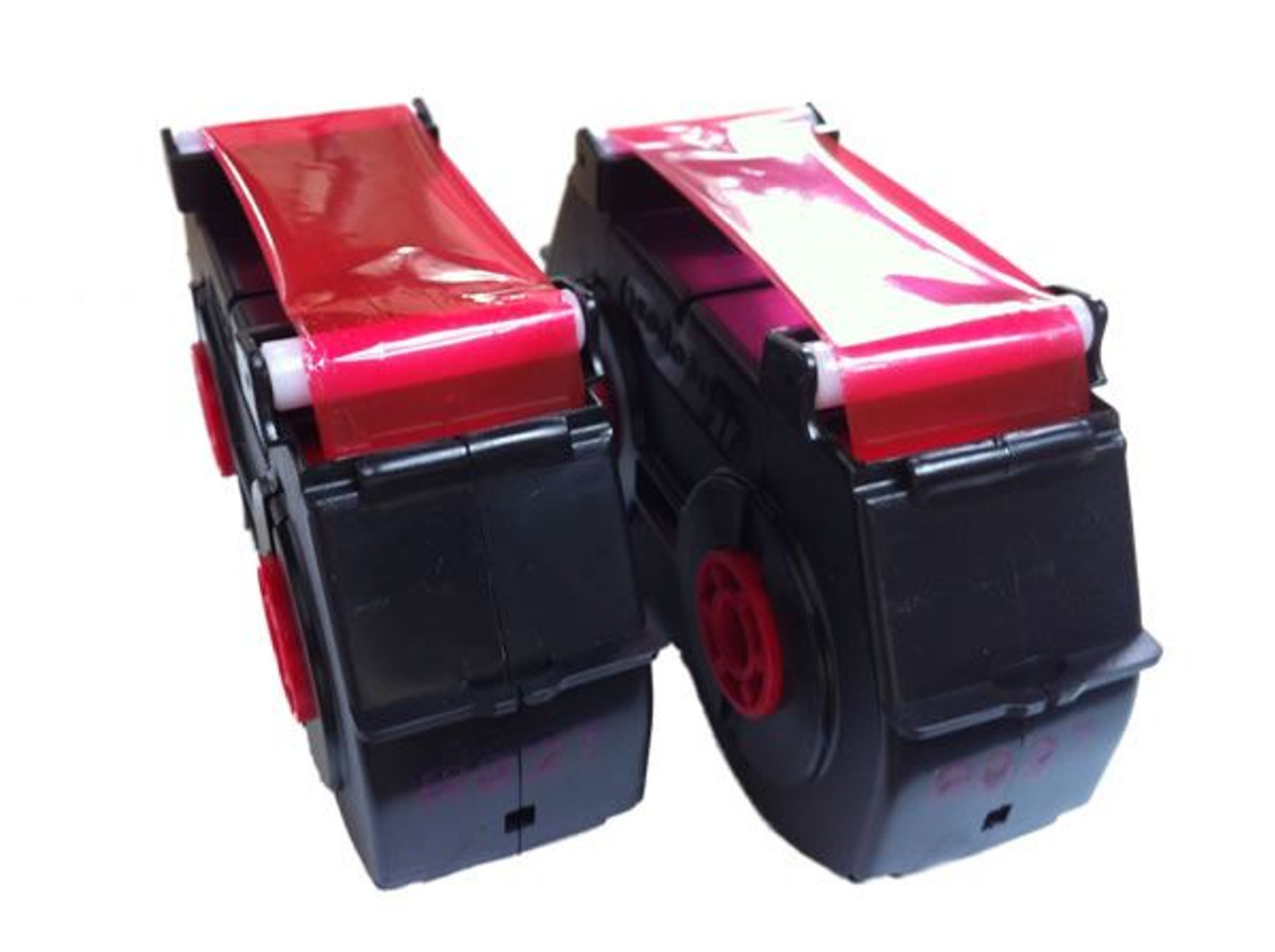 Compatible NEOPOST / QUADIENT SM22 / SM26 Franking Machine Ink Cassette Twin Pack - RED