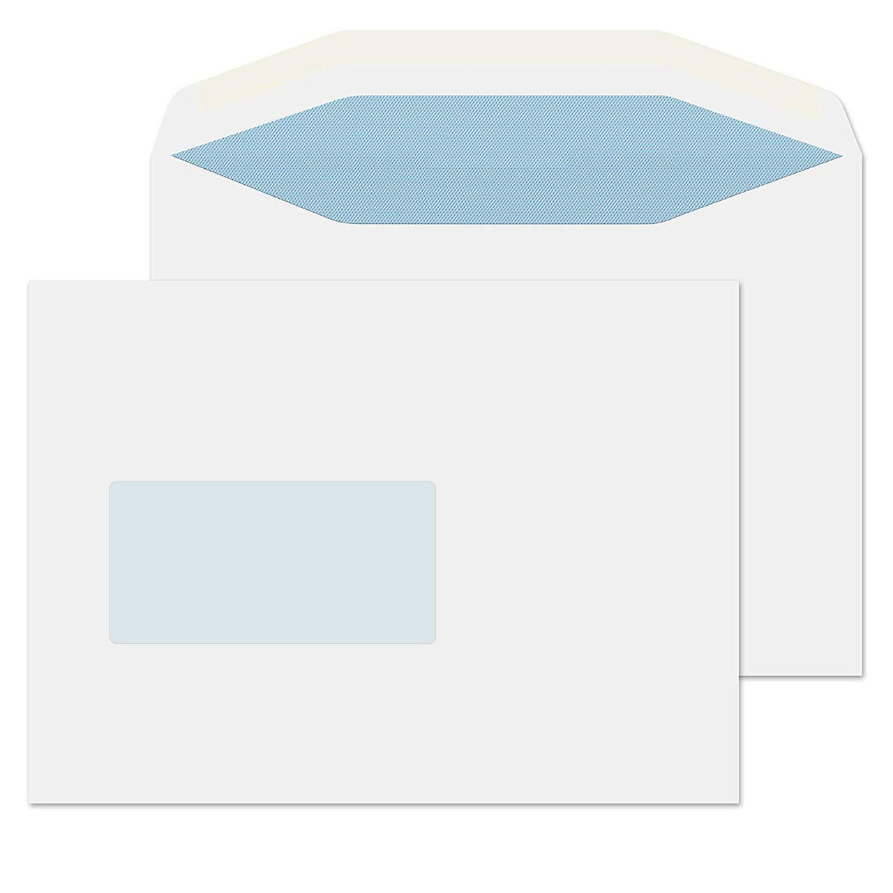 Folder Inserter Envelopes - EXTRA WIDE 238mm C5 Window - 1000pcs