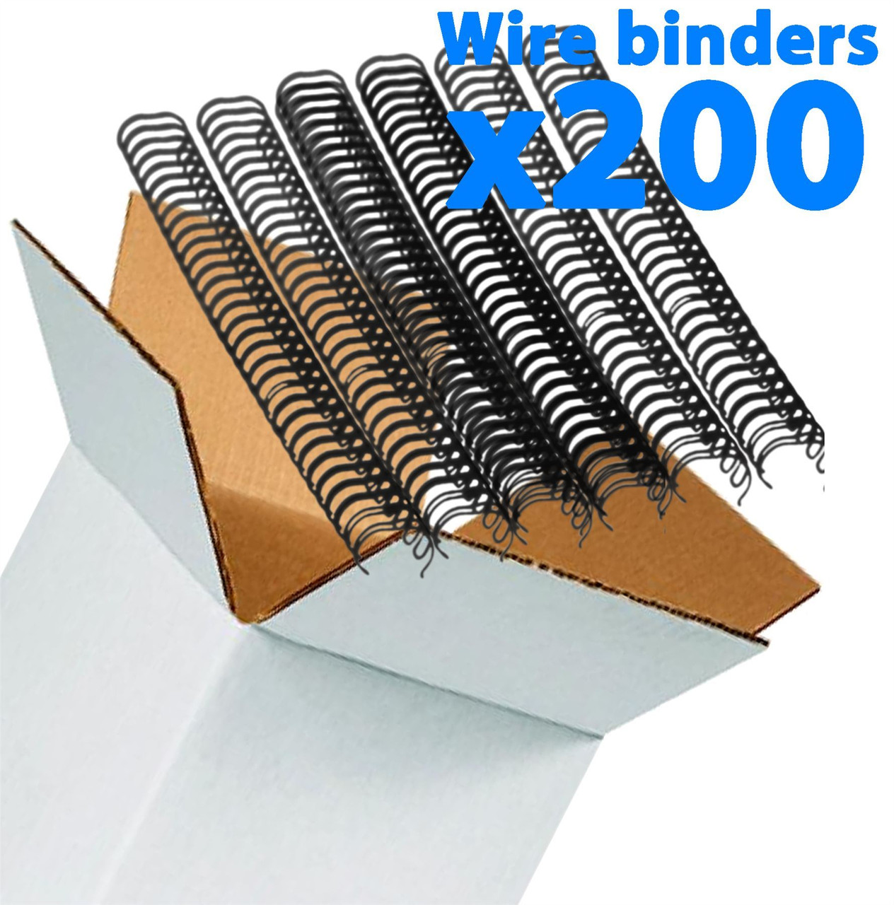 Galaxy Wire Binders Pack - 6.4 mm pitch 3:1