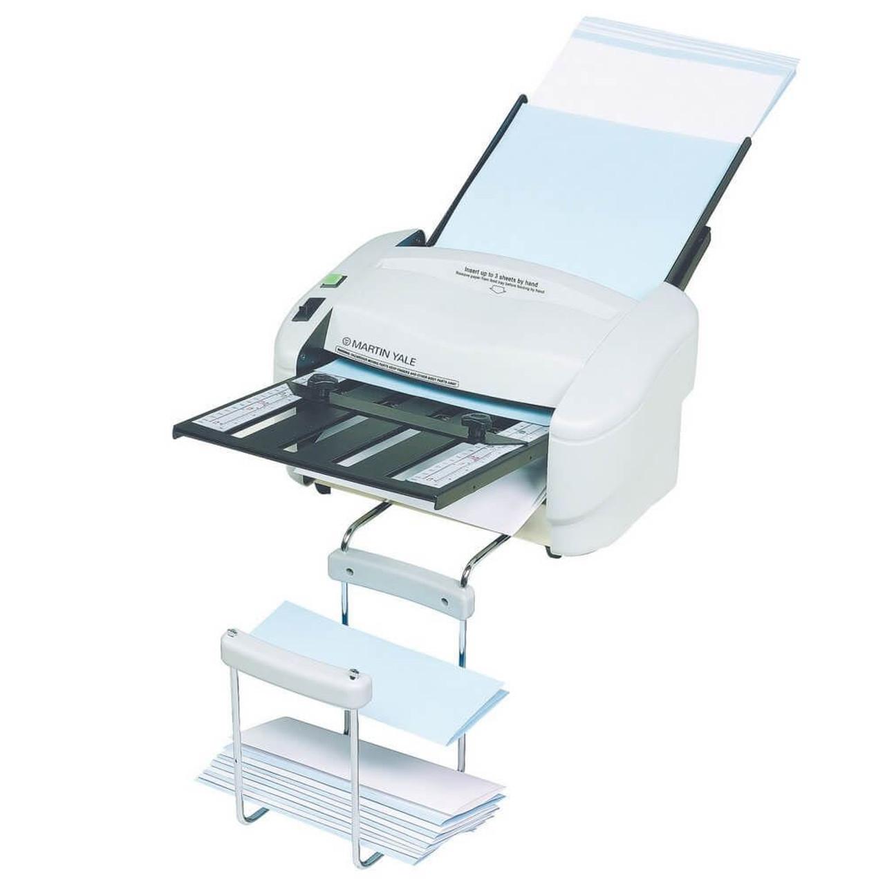 Martin Yale 7400 - A4 Paper Folding Machine with Catch Basket
