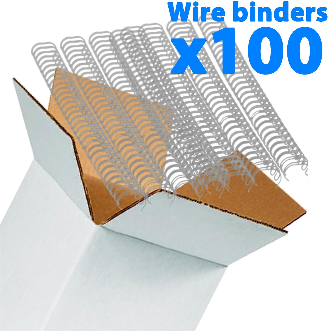 Galaxy Wire Binders Pack - 14.3 mm Pitch 3:1