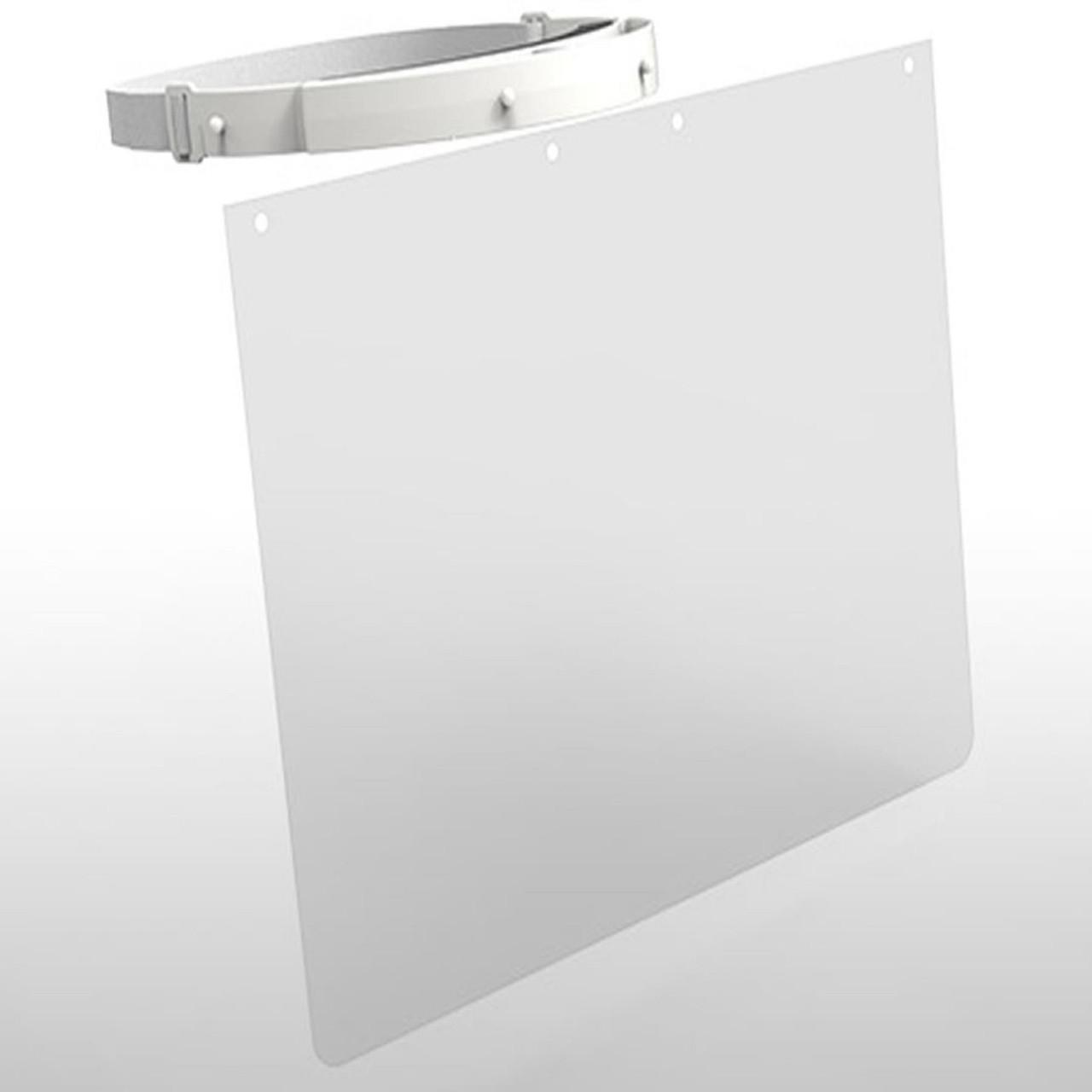 Galaxy PPE Face Shield/Visor/Mask/Guard with Reusable Headband - Anti-fog