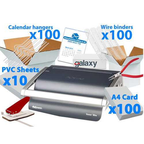 Fellowes 15 Calendar Making Kit PRO - Start Up Pack