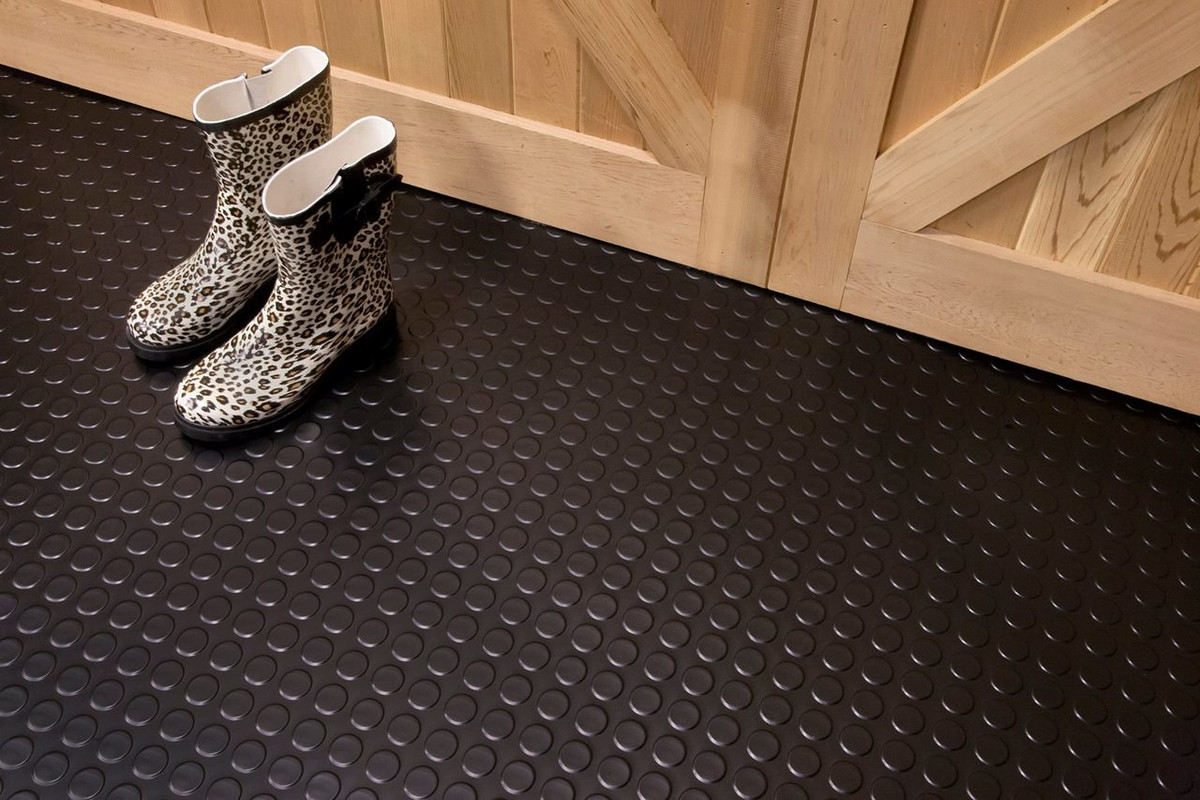 G Floor Coin Pattern 10 W X 24 L 75 Mil Roll Out Floor