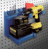 PegBoard Power Drill Storage & Recharging Station (DL-HLPDH)
