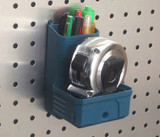 PegBoard Tape Measure & Pencil Holder