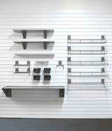 StoreWall Deluxe Shelf Bundle