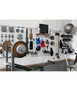 StoreWALL Home Fitness Room Package (Heavy Duty Panels + Accessories) (SW-FITNESS-ROOM-PKG)