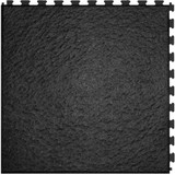 Home Style Slate Pattern Interlocking Tile Black, Flexi Tile Perfection Floor, Interlocking Flexible Tiles