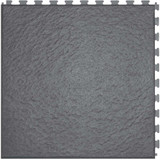 Perfection Floor Tile Home Style Slate Pattern Interlocking Tile Dark Grey