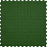 Flexi Tile by Perfection Floor Tile, Coin Hunter Green