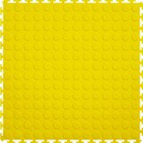 Perfection Floor Tile Coin Pattern Yellow, Flexi Tile, Flexible Tiles