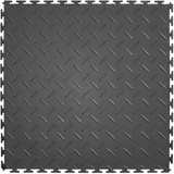 Flexi Tile Diamond Pattern Tile Dark Grey, Flexible Tiles, Perfection Floor Tiles