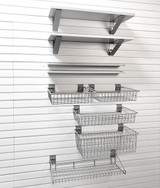 StoreWall Shelf and Basket Combo