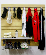 StoreWall Running Storage Kit with Heavy Duty Panels and Accessories