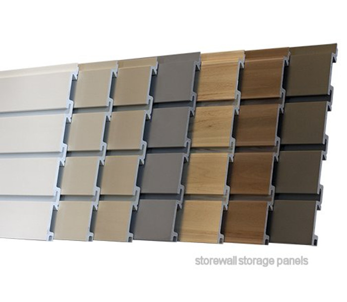 StoreWall Standard Panel Colors