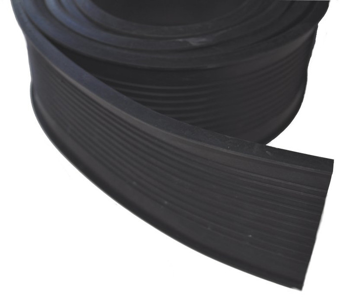 "Garage Door Rubber Seal 100' Roll 7"" Wide"