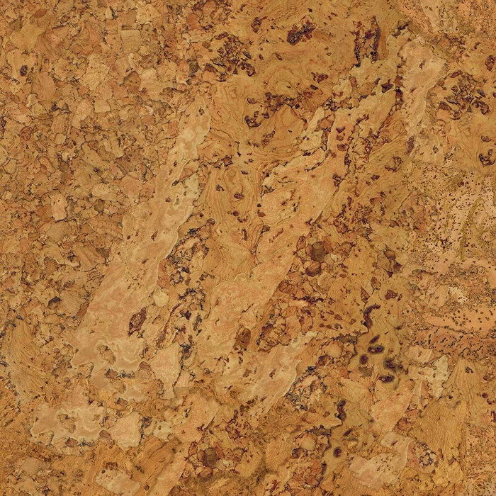 Perfection Floor Tile Natural Stone Cork Closeup