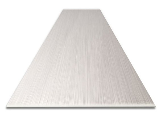 Light Brushed Aluminum Base Molding 18 GA in Straight or Cove Bend