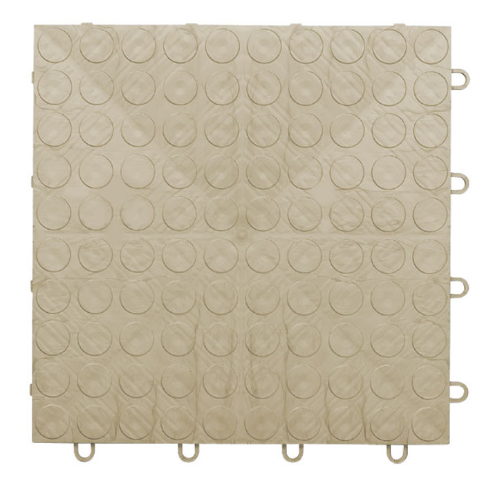 EX Tile Coin Pattern Beige