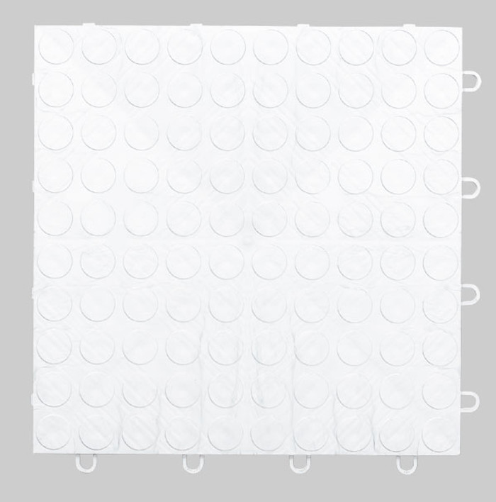 EX Tile Coin Pattern White