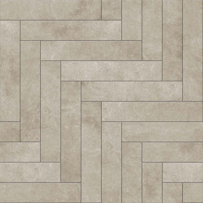 Perfection Floor Tile Chevron Endstone