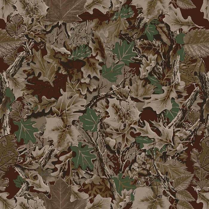 Perfection Floor Tile Custom Print Autumn Camo