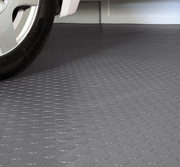 G-Floor BLT Roll out flooring Grey Coin 75 Mil
