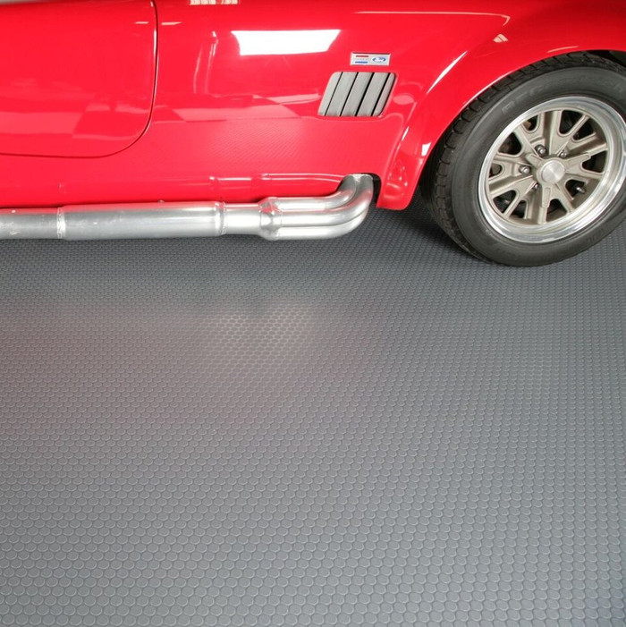 G-Floor Rollout Flooring Small Coin 60 Mil Garage Floor