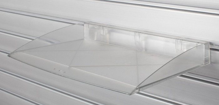 HandiWall Work Tray Clear