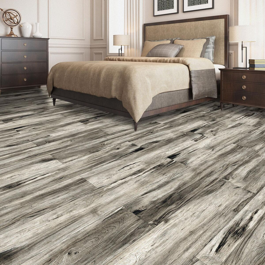 Perfection Floor Tile Woodland Plank Cushion Grip Tiles Riverwood Taupe