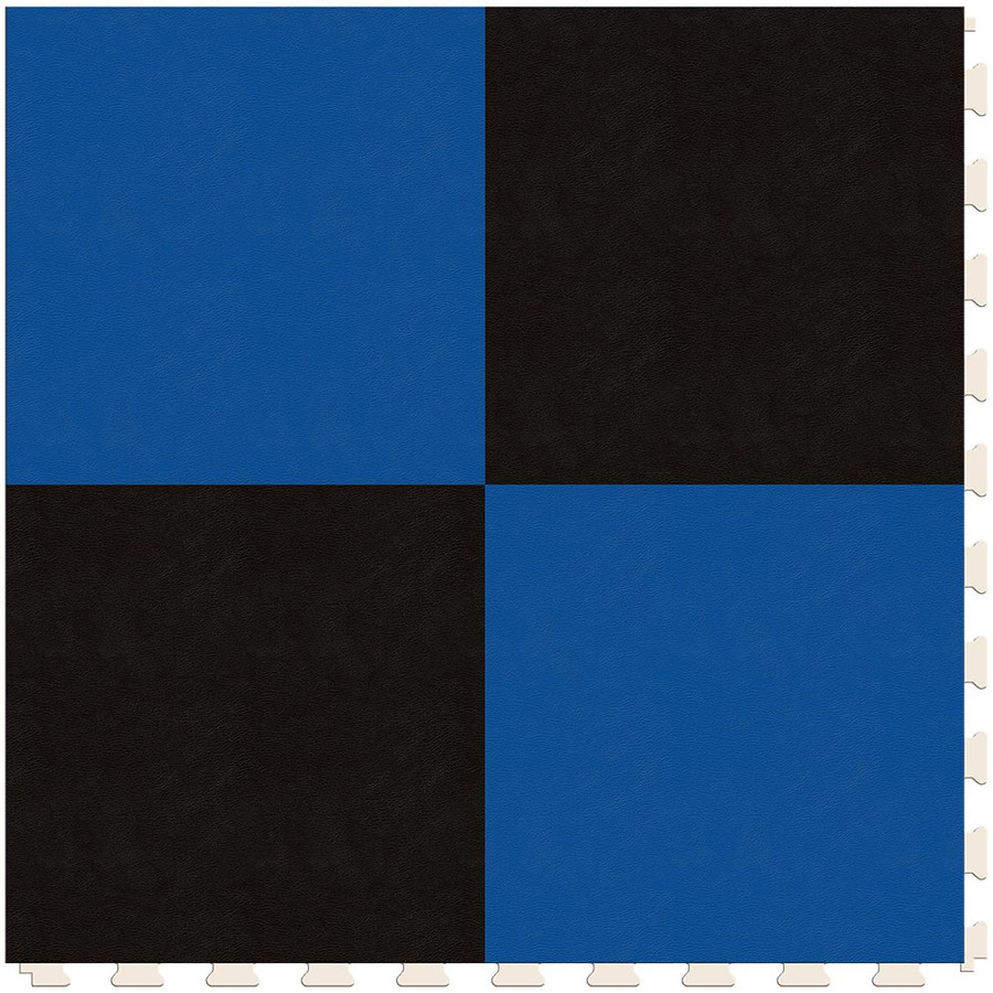 Checkerboard - Black and Blue