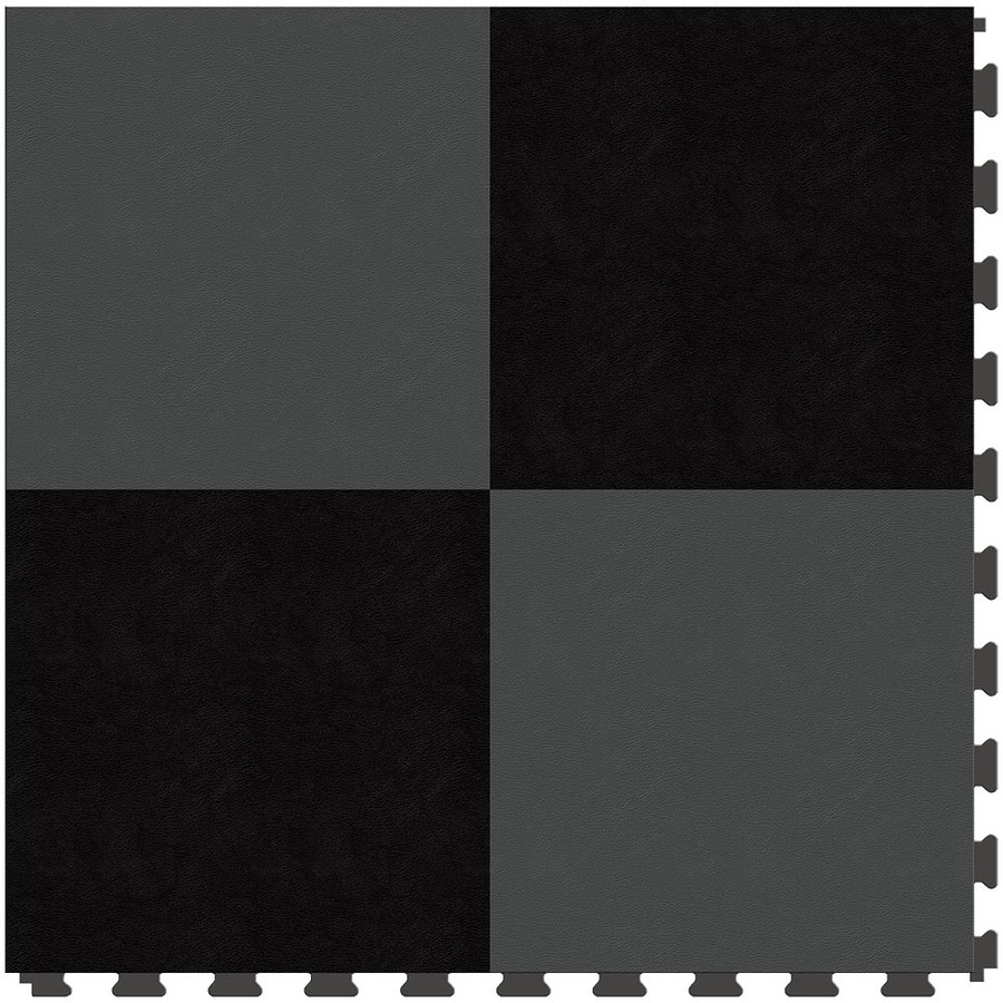 Checkerboard - Black and Dark Grey