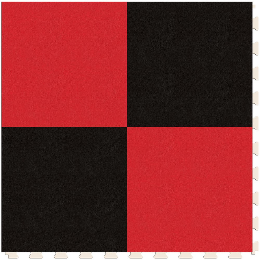 Checkerboard - Black and Red