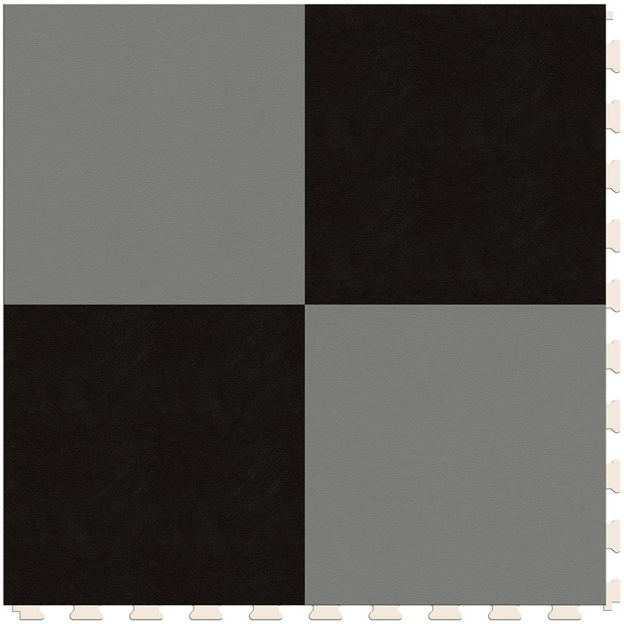 Checkerboard - Silver and Black