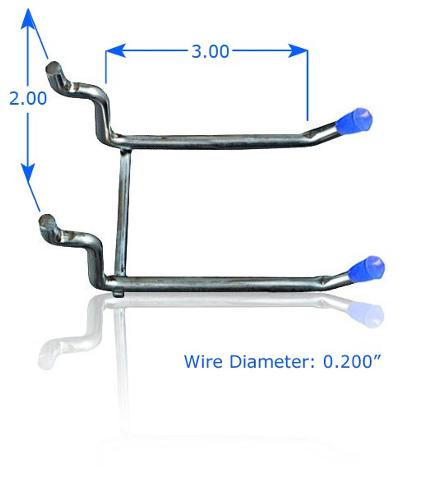 "3"" Double Arm Hook 
