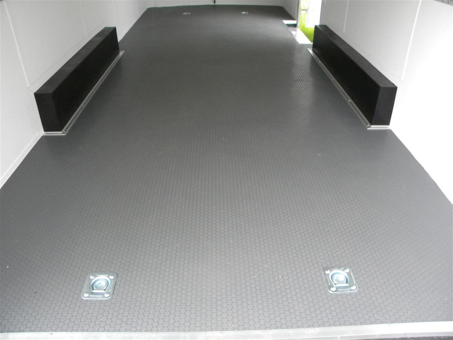 Trailer Floor Covering Small Coin Pattern, Vinyl Flooring