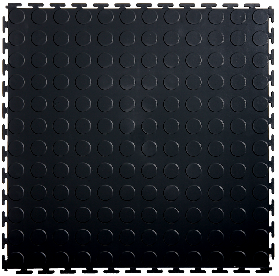 Black Coin Tile