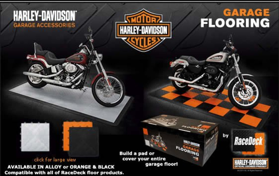 Race Deck Harley Davidson Kit