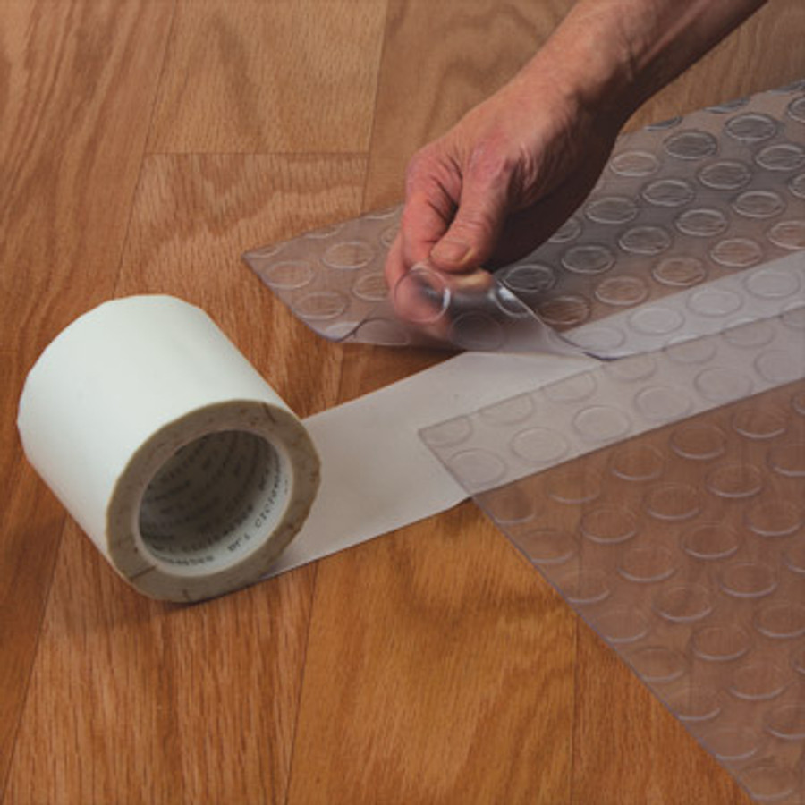Acrylic Adhesive/Glass cloth tape seaming with white tape