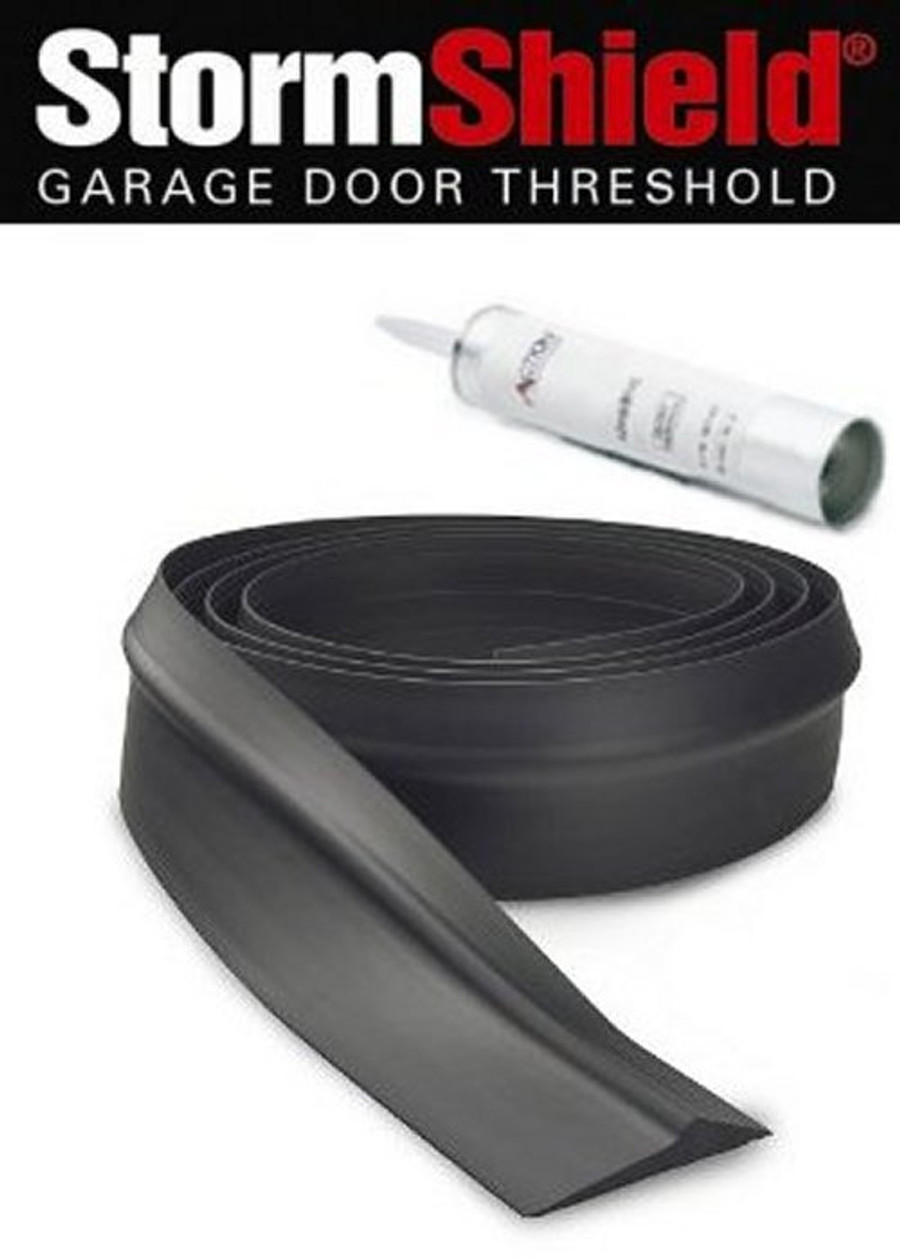 Storm Shield Garage Door Threshold Kit