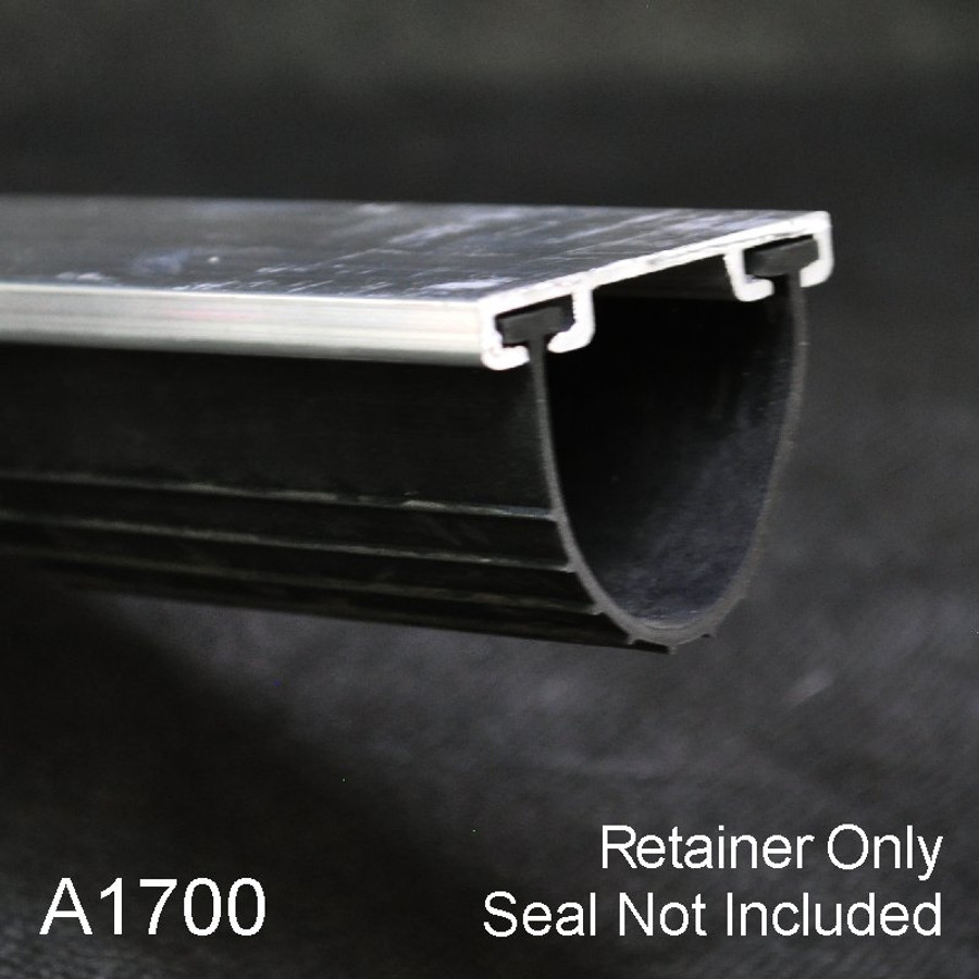 Aluminum Garage Door Bottom Seal Retainer A1700 Retainer Only by Elite Xpressions