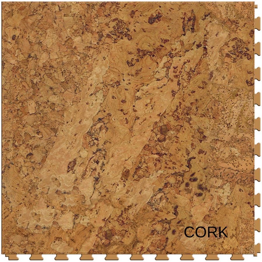 Perfection Floor Tile Natural Stone Wood Grain Cork