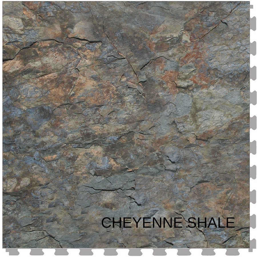 Perfection Floor Tile Natural Stone Stone Creek Cheyenne Shale
