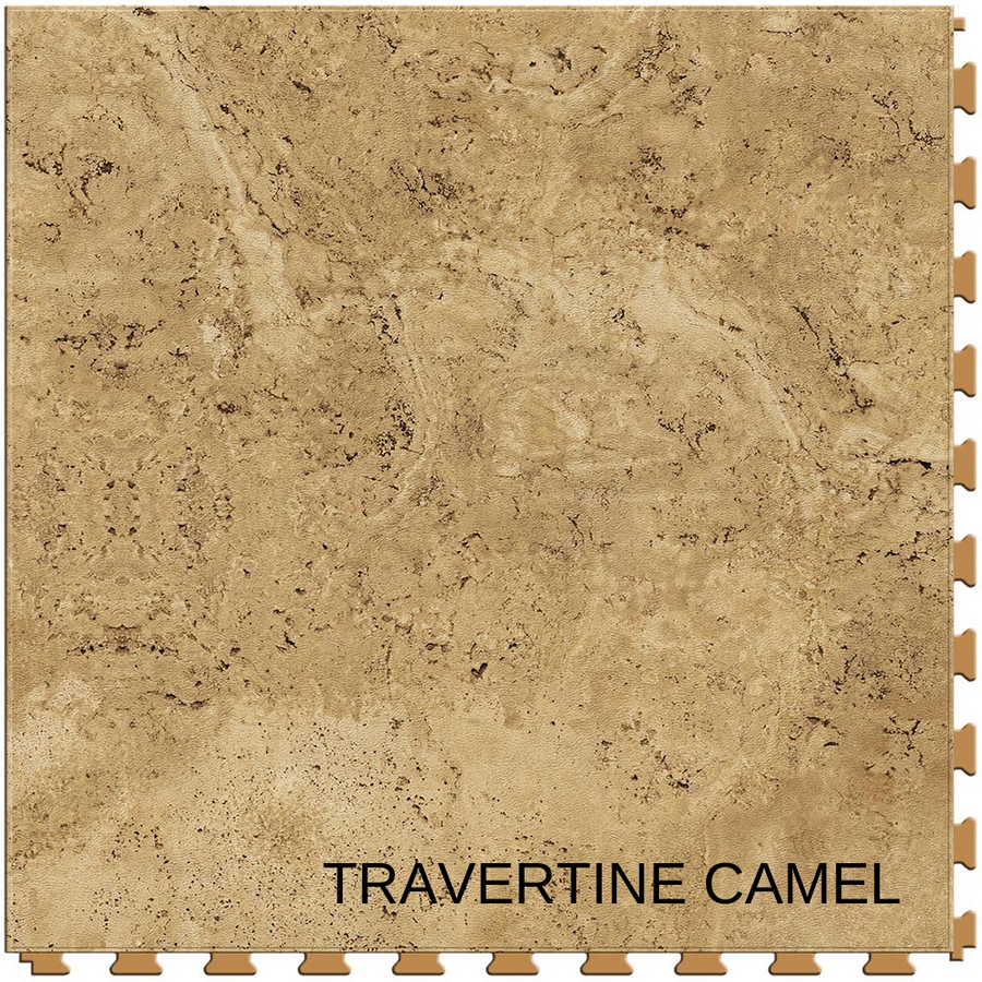Perfection Floor Tile Natural Stone Travertine Camel