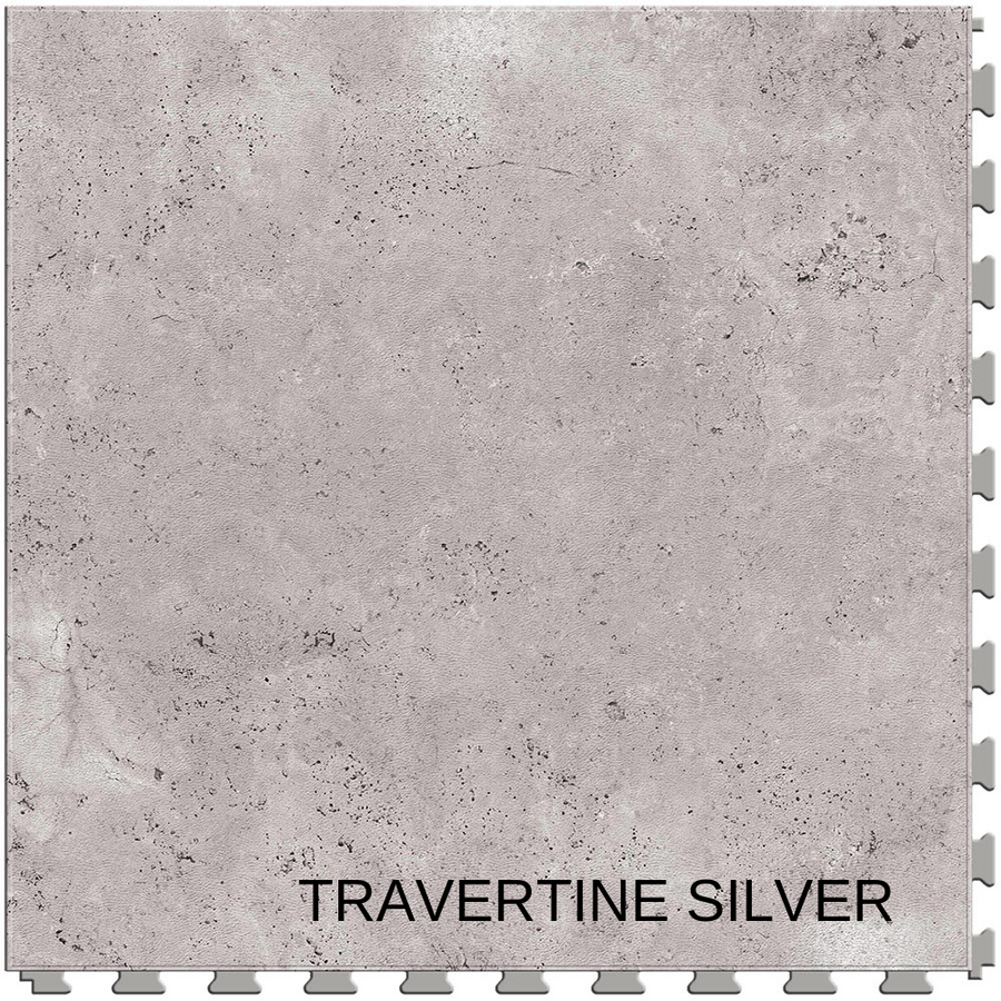 Perfection Floor Tile Natural Stone Travertine Silver