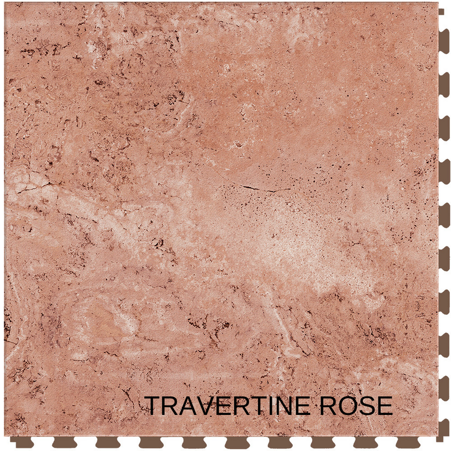 Perfection Floor Tile Natural Stone Travertine Rose