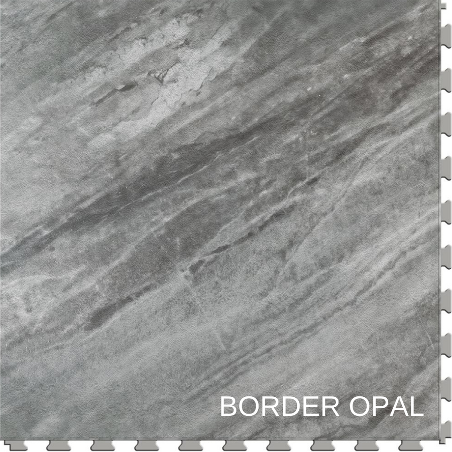 Perfection Floor Tile Natural Stone Gemstone Border Opal