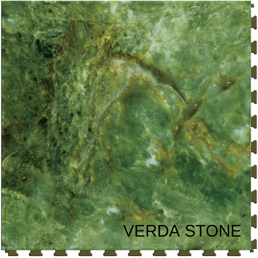 Perfection Floor Tile Natural Stone Gemstone Verda Stone